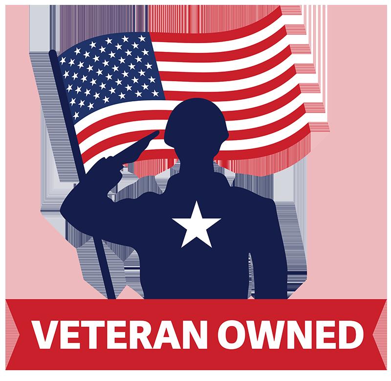 Veteran owned company logo